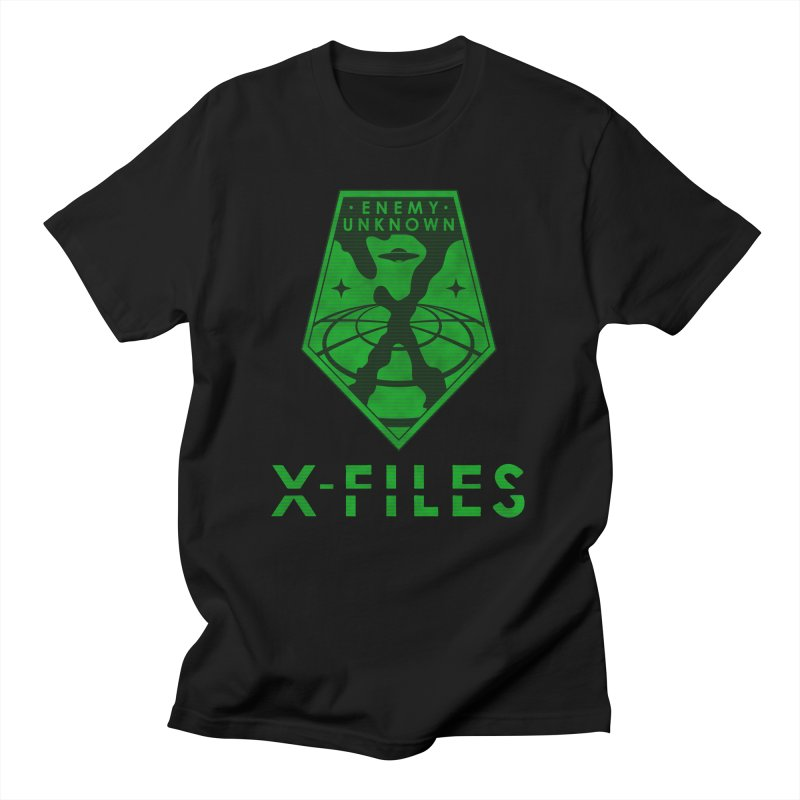 X-FILES: Enemy Unknown Men's T-Shirt by JalbertAMV's Artist Shop