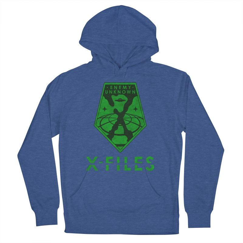 X-FILES: Enemy Unknown Men's French Terry Pullover Hoody by JalbertAMV's Artist Shop