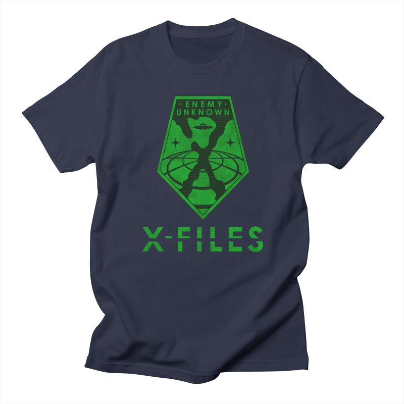 X-FILES: Enemy Unknown Men's Regular T-Shirt by JalbertAMV's Artist Shop