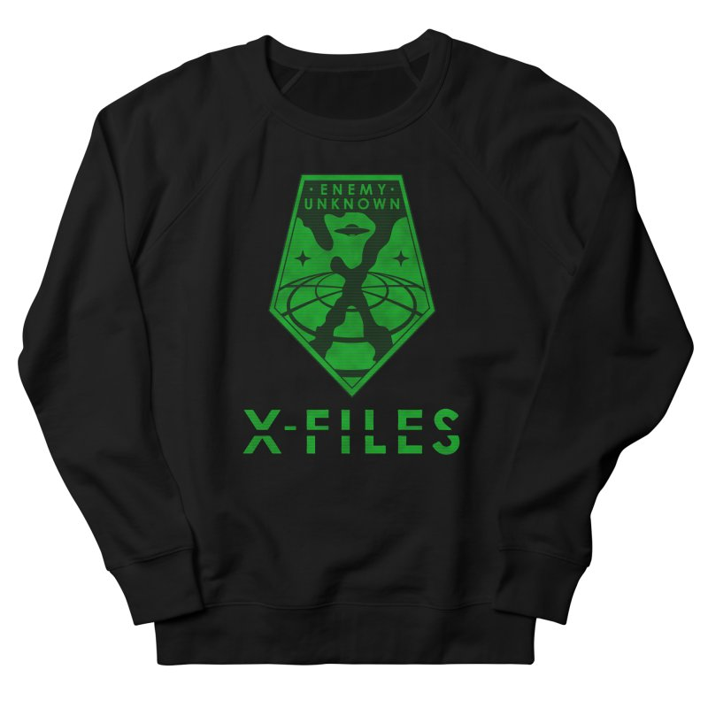 X-FILES: Enemy Unknown Women's French Terry Sweatshirt by JalbertAMV's Artist Shop