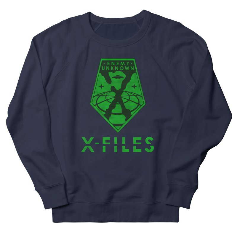 X-FILES: Enemy Unknown Men's French Terry Sweatshirt by JalbertAMV's Artist Shop