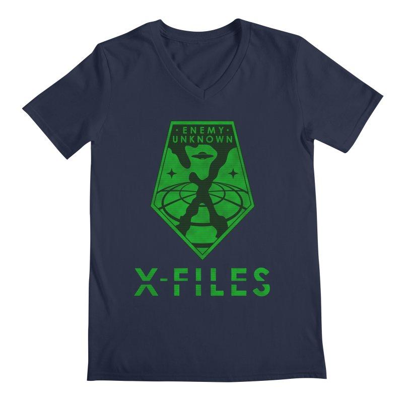 X-FILES: Enemy Unknown Men's V-Neck by JalbertAMV's Artist Shop
