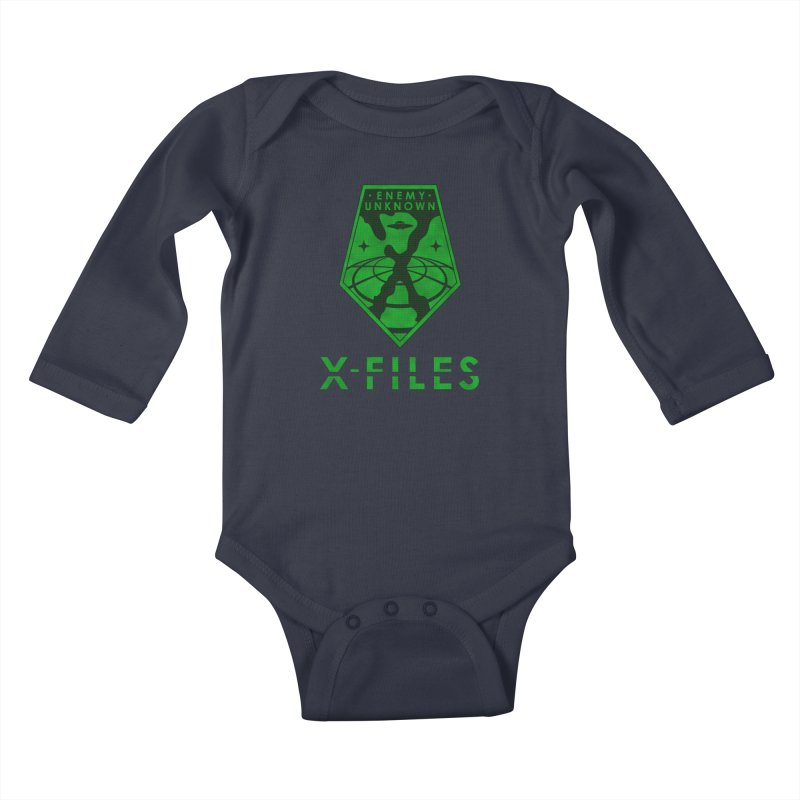 X-FILES: Enemy Unknown Kids Baby Longsleeve Bodysuit by JalbertAMV's Artist Shop