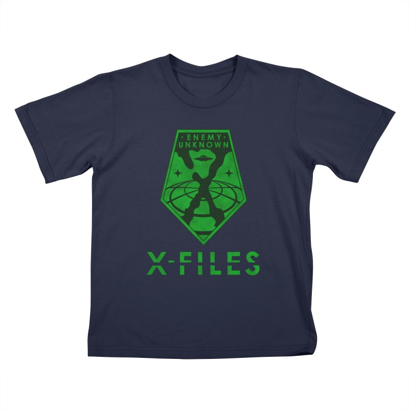 X-FILES: Enemy Unknown Kids T-Shirt by JalbertAMV's Artist Shop