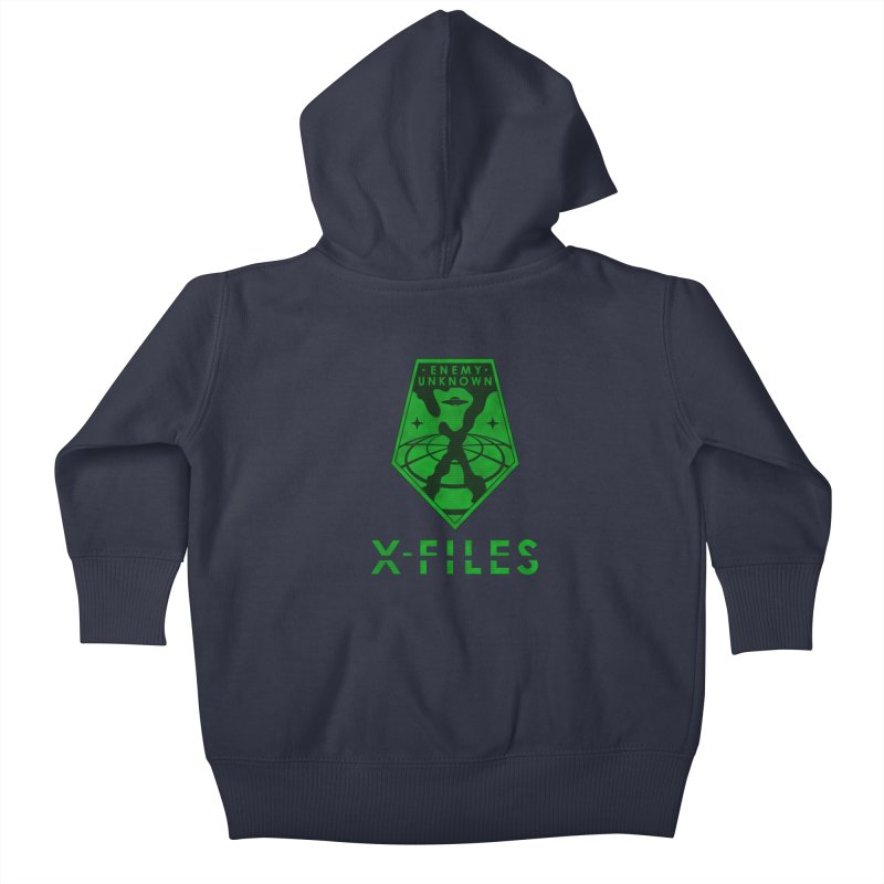 X-FILES: Enemy Unknown Kids Baby Zip-Up Hoody by JalbertAMV's Artist Shop