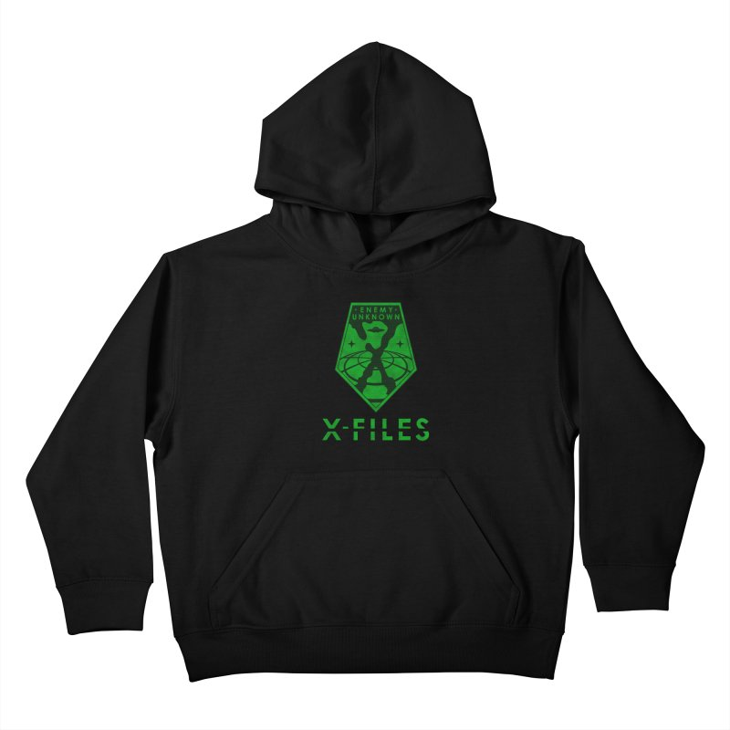 X-FILES: Enemy Unknown Kids Pullover Hoody by JalbertAMV's Artist Shop
