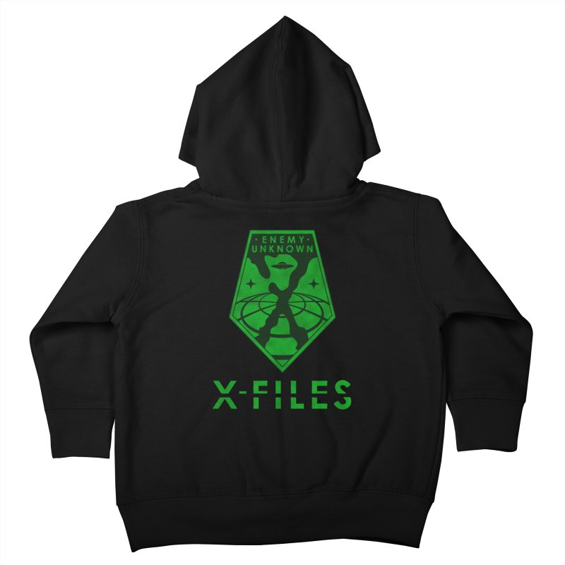 X-FILES: Enemy Unknown Kids Toddler Zip-Up Hoody by JalbertAMV's Artist Shop