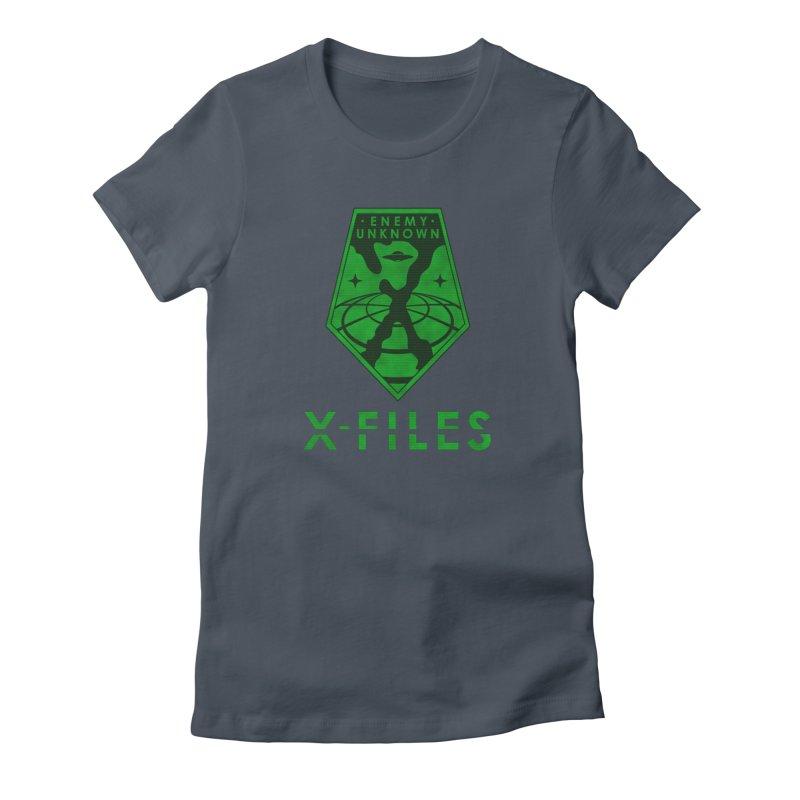 X-FILES: Enemy Unknown Women's T-Shirt by JalbertAMV's Artist Shop