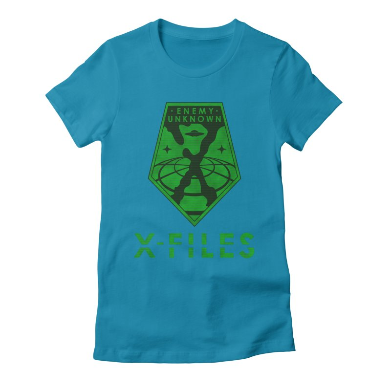 X-FILES: Enemy Unknown Women's Fitted T-Shirt by JalbertAMV's Artist Shop