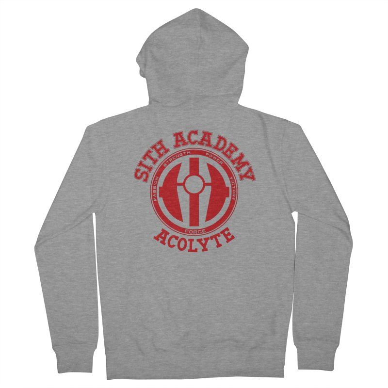 Sith Academy Men's Zip-Up Hoody by JalbertAMV's Artist Shop