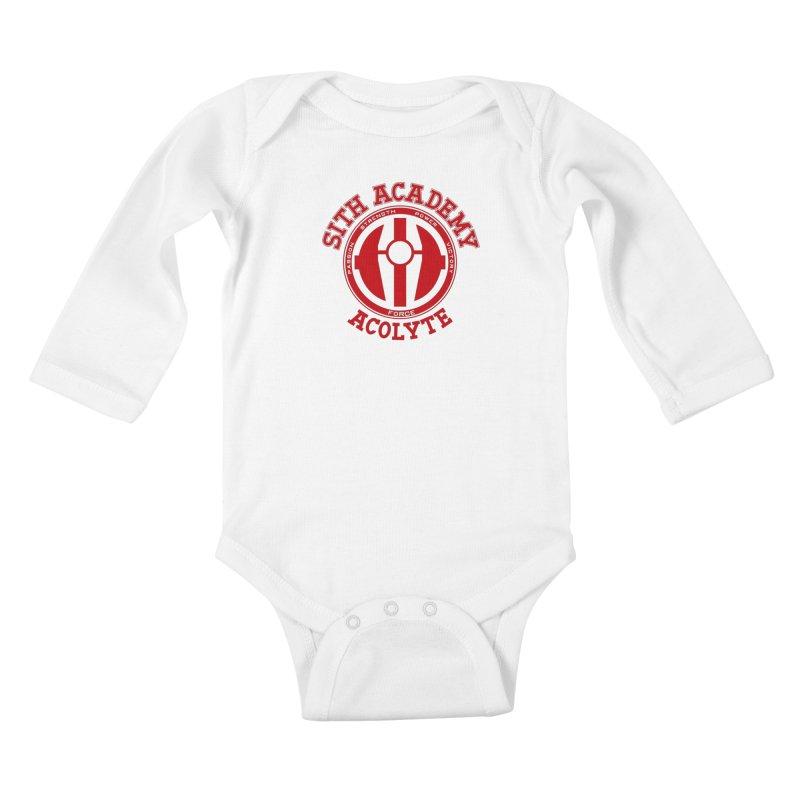 Sith Academy Kids Baby Longsleeve Bodysuit by JalbertAMV's Artist Shop