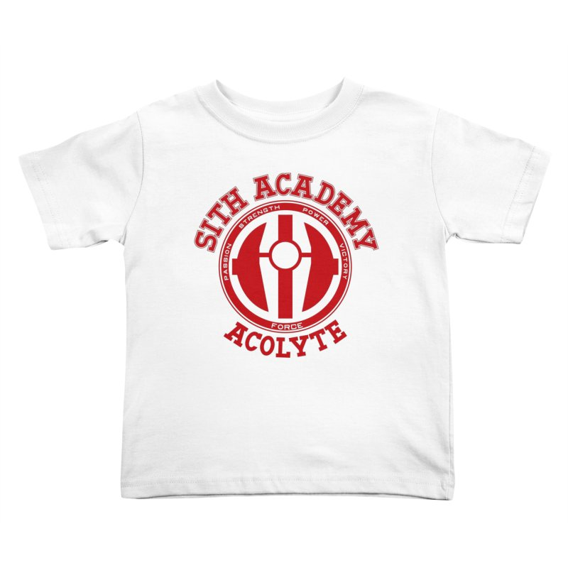 Sith Academy Kids Toddler T-Shirt by JalbertAMV's Artist Shop