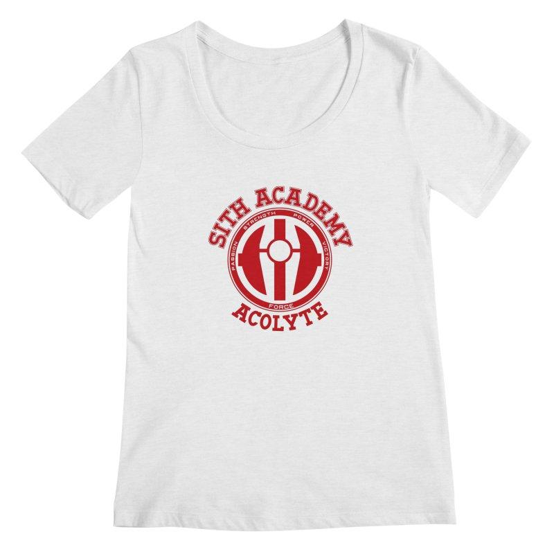 Sith Academy Women's Scoopneck by JalbertAMV's Artist Shop