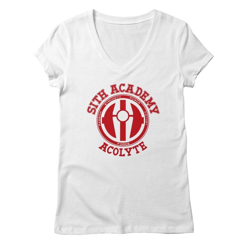 Sith Academy Women's Regular V-Neck by JalbertAMV's Artist Shop