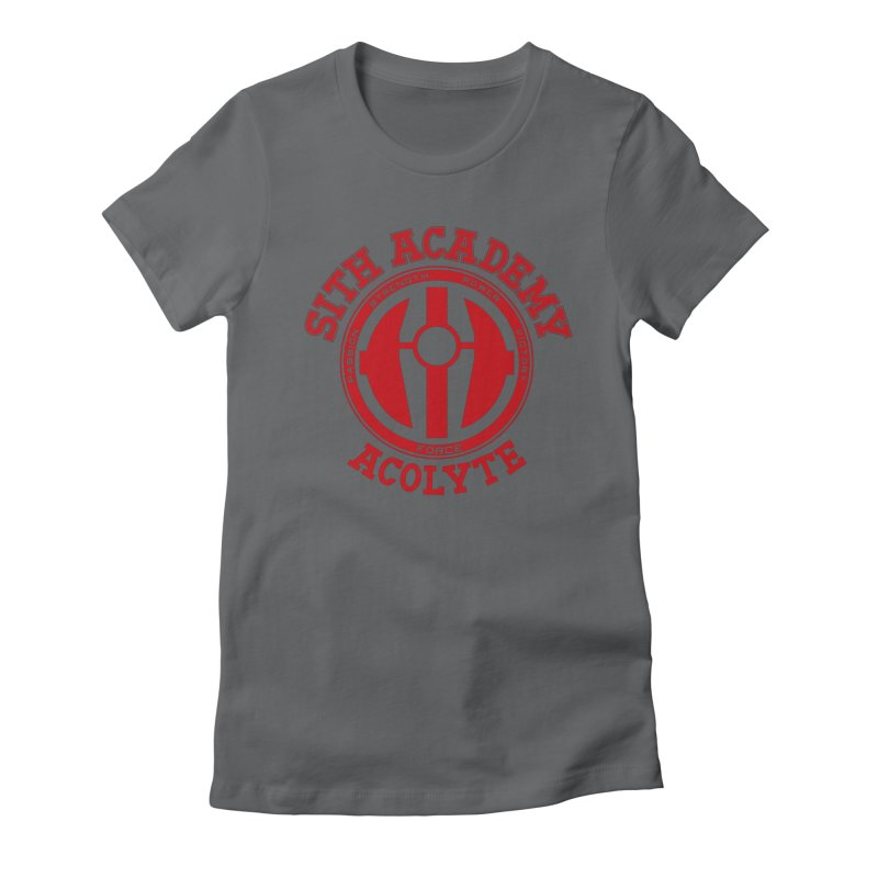 Sith Academy Women's Fitted T-Shirt by JalbertAMV's Artist Shop