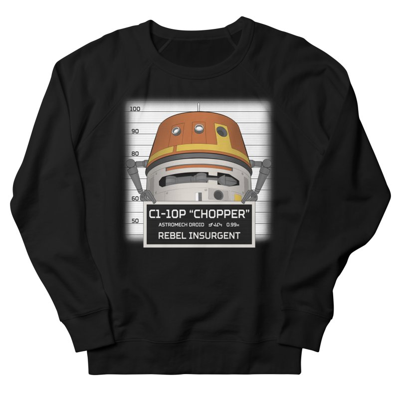 Rebel Droid Men's French Terry Sweatshirt by JalbertAMV's Artist Shop