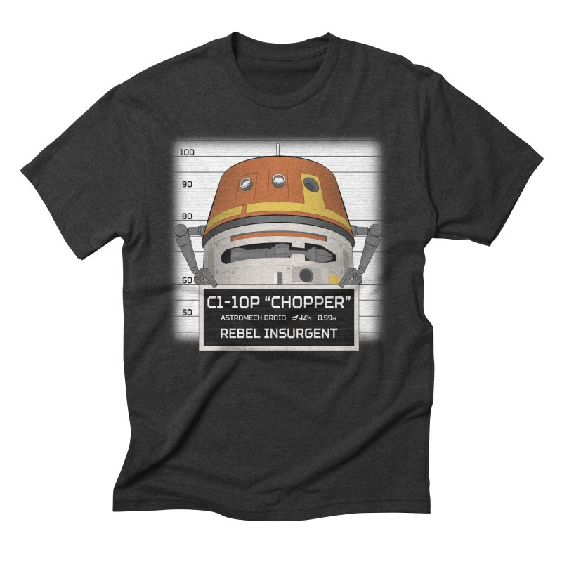 Rebel Droid Men's Triblend T-Shirt by JalbertAMV's Artist Shop