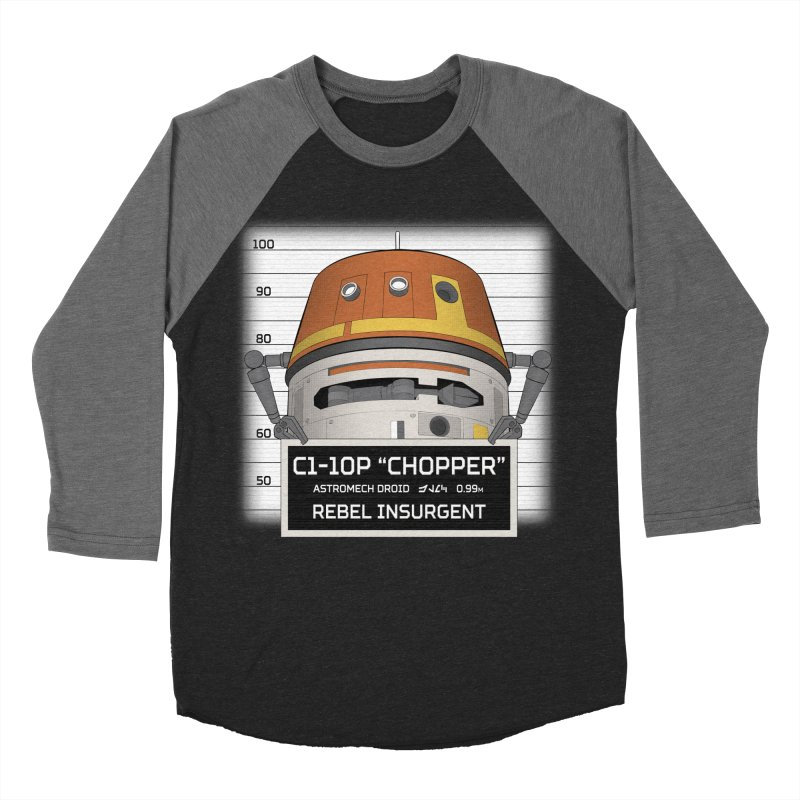 Rebel Droid Men's Baseball Triblend Longsleeve T-Shirt by JalbertAMV's Artist Shop