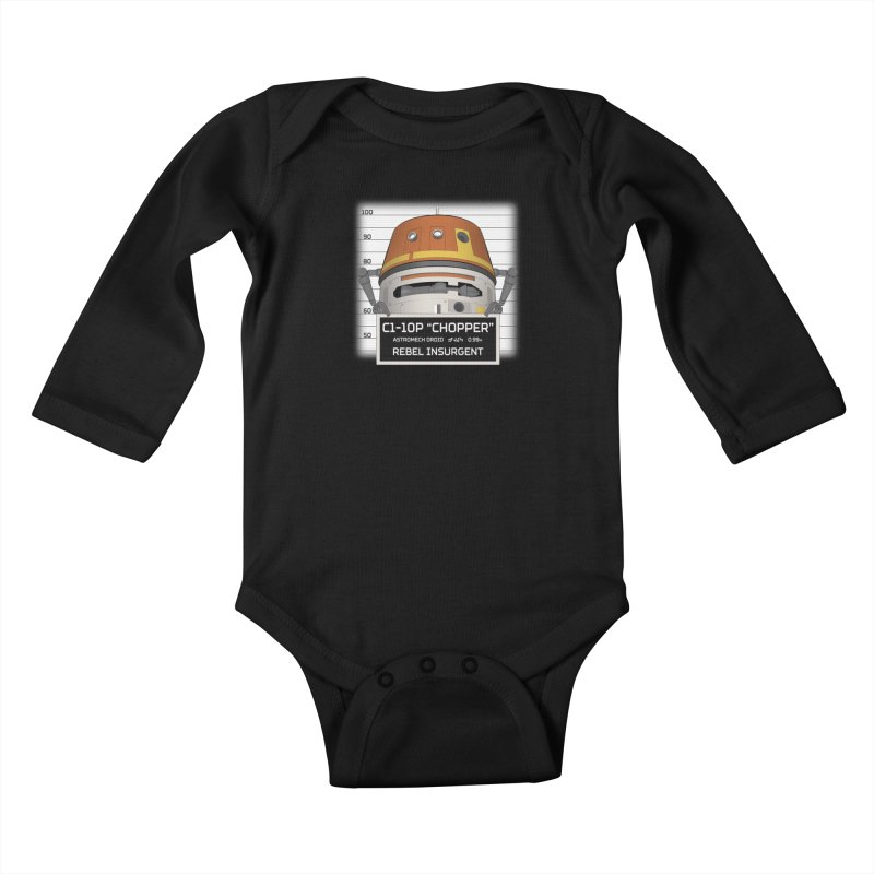 Rebel Droid Kids Baby Longsleeve Bodysuit by JalbertAMV's Artist Shop