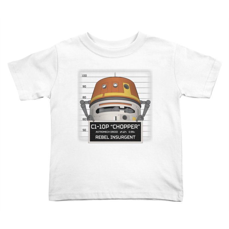 Rebel Droid Kids Toddler T-Shirt by JalbertAMV's Artist Shop