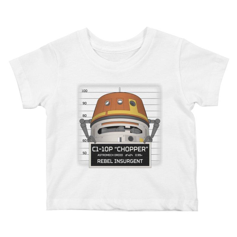 Rebel Droid Kids Baby T-Shirt by JalbertAMV's Artist Shop