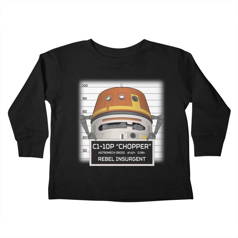 Rebel Droid Kids Toddler Longsleeve T-Shirt by JalbertAMV's Artist Shop