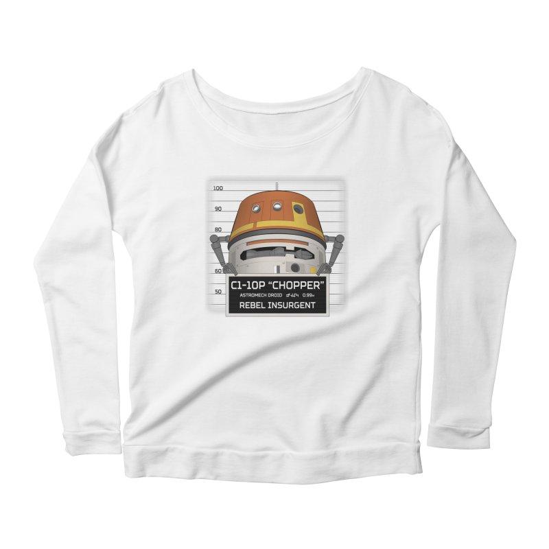 Rebel Droid Women's Scoop Neck Longsleeve T-Shirt by JalbertAMV's Artist Shop