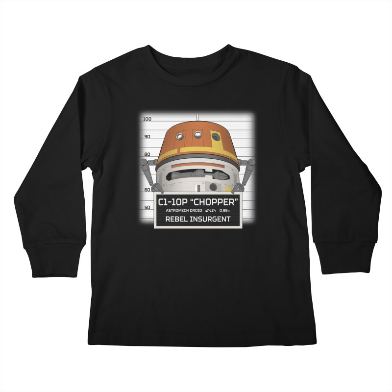 Rebel Droid Kids Longsleeve T-Shirt by JalbertAMV's Artist Shop