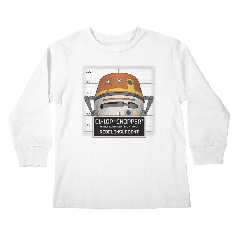 Rebel Droid Kids Longsleeve T-Shirt by JalbertAMV's Artist Shop