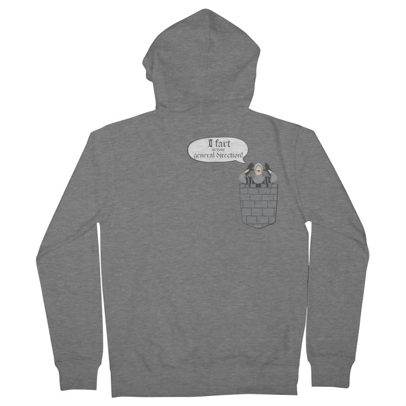 French Taunting Guard Women's Zip-Up Hoody by JalbertAMV's Artist Shop