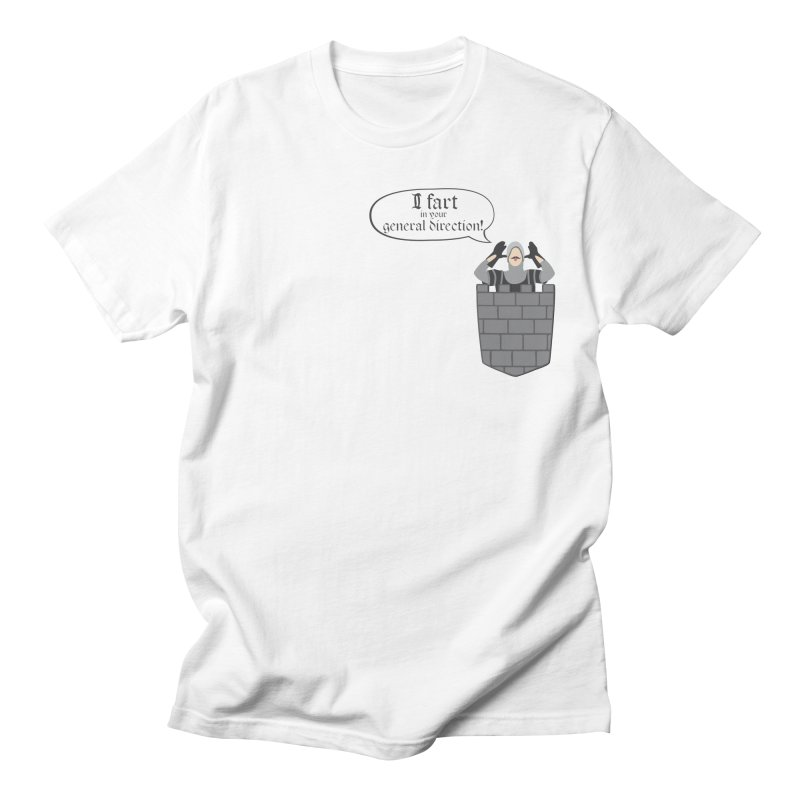 French Taunting Guard Men's Regular T-Shirt by JalbertAMV's Artist Shop