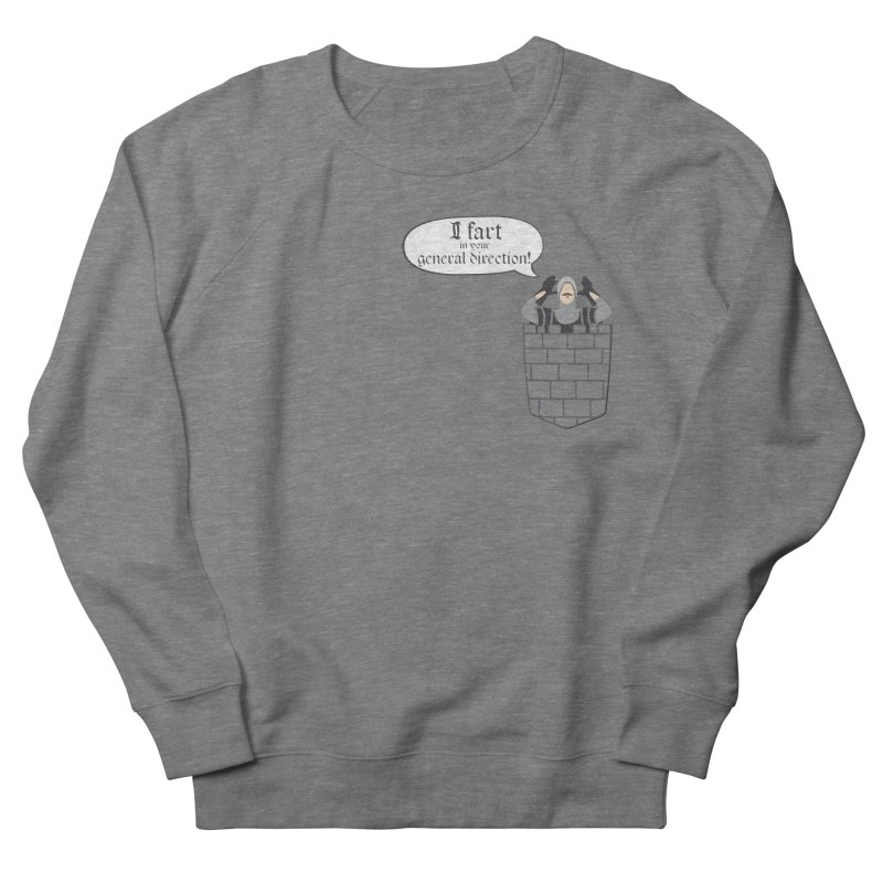 French Taunting Guard Women's French Terry Sweatshirt by JalbertAMV's Artist Shop
