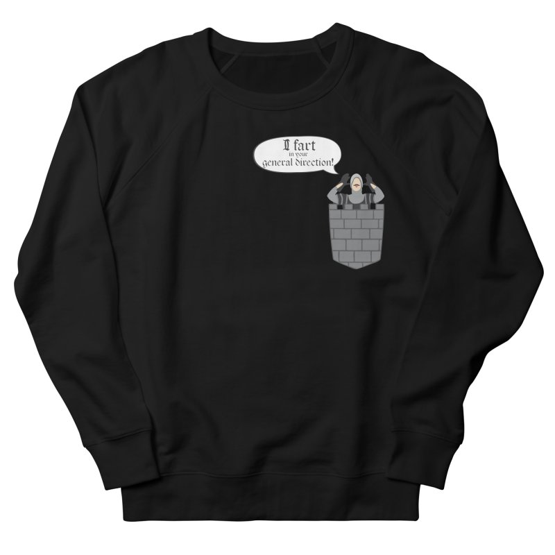 French Taunting Guard Men's French Terry Sweatshirt by JalbertAMV's Artist Shop