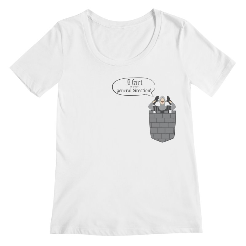 French Taunting Guard Women's Regular Scoop Neck by JalbertAMV's Artist Shop