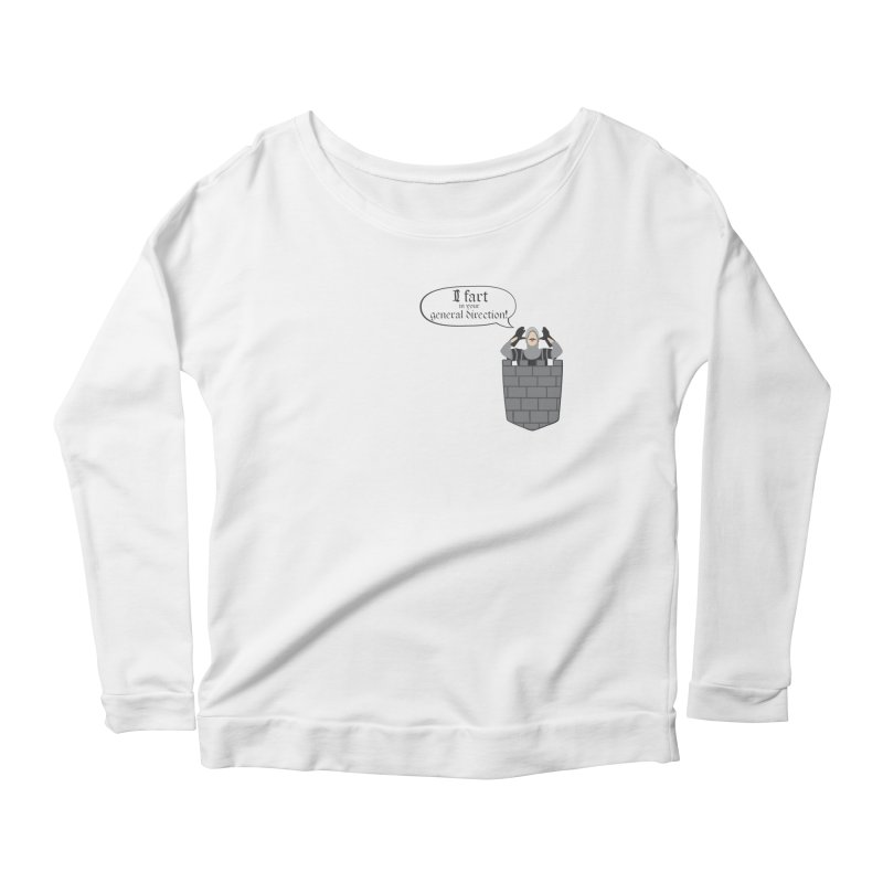 French Taunting Guard Women's Longsleeve Scoopneck  by JalbertAMV's Artist Shop