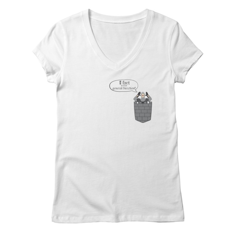 French Taunting Guard Women's V-Neck by JalbertAMV's Artist Shop