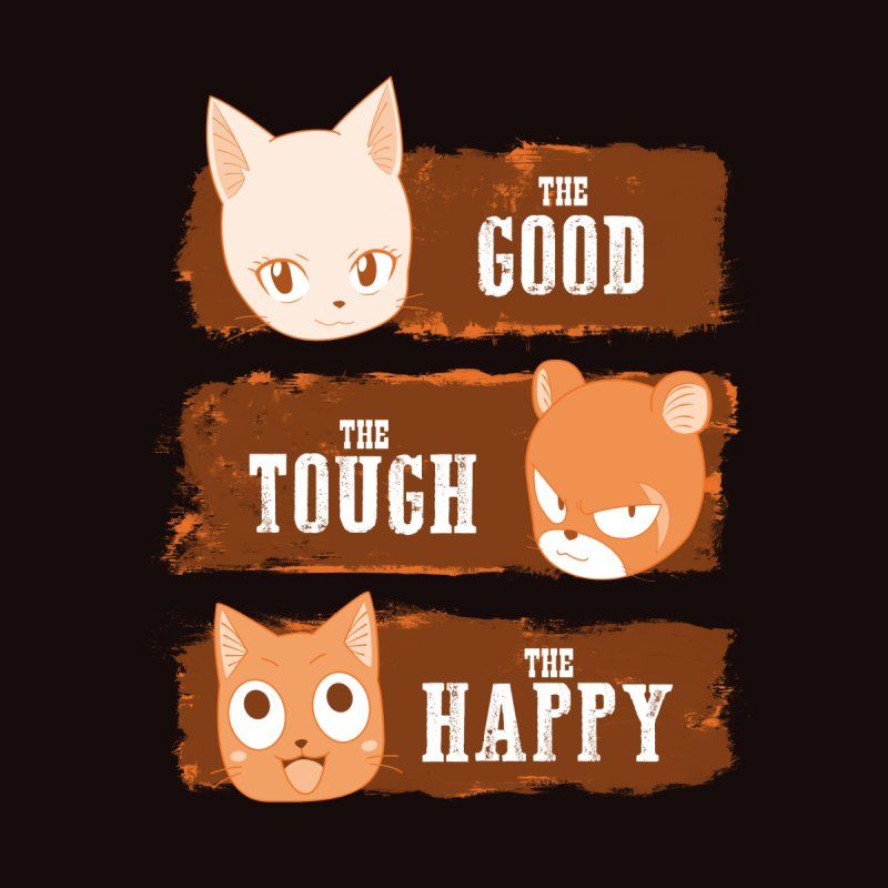 The Good, The Tough and The Happy Women's Scoop Neck by JalbertAMV's Artist Shop