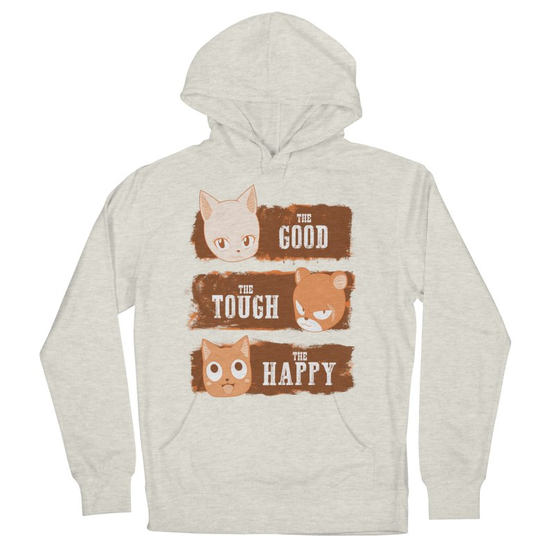 The Good, The Tough and The Happy Men's French Terry Pullover Hoody by JalbertAMV's Artist Shop