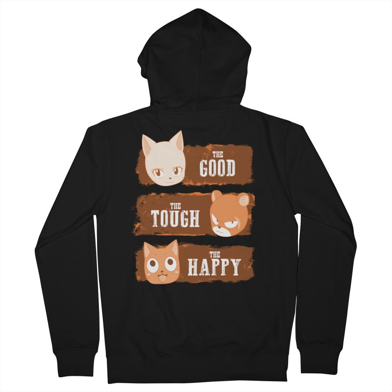 The Good, The Tough and The Happy Men's Zip-Up Hoody by JalbertAMV's Artist Shop
