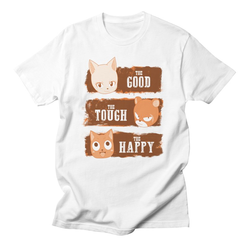 The Good, The Tough and The Happy Men's Regular T-Shirt by JalbertAMV's Artist Shop