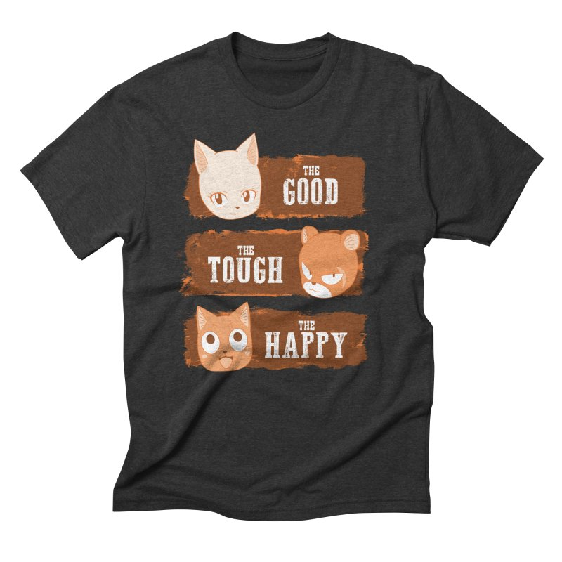 The Good, The Tough and The Happy Men's Triblend T-Shirt by JalbertAMV's Artist Shop