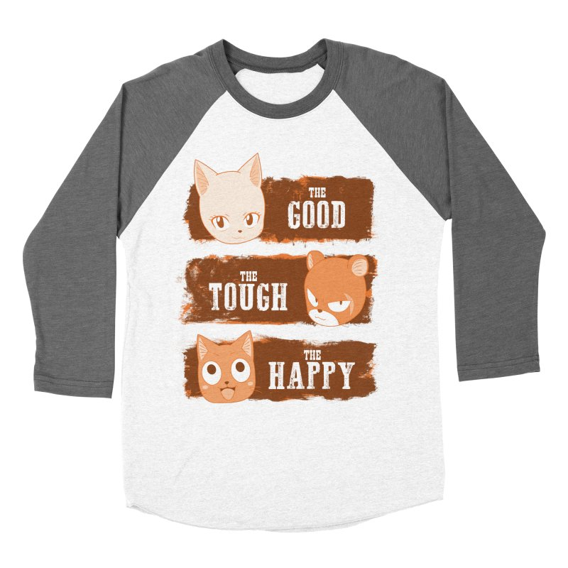 The Good, The Tough and The Happy Men's Baseball Triblend T-Shirt by JalbertAMV's Artist Shop