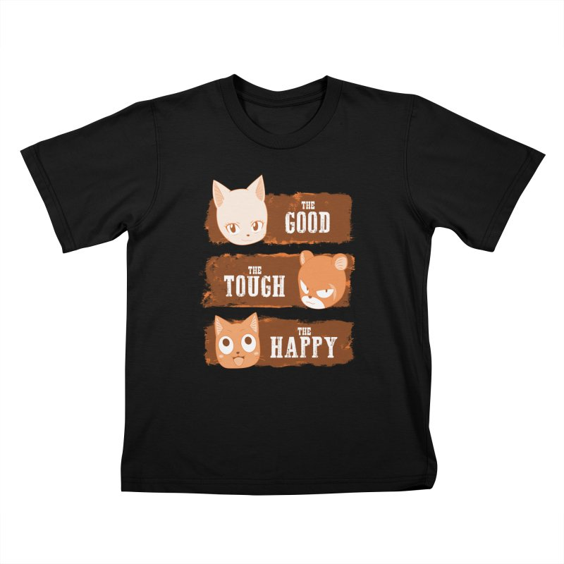 The Good, The Tough and The Happy Kids T-Shirt by JalbertAMV's Artist Shop