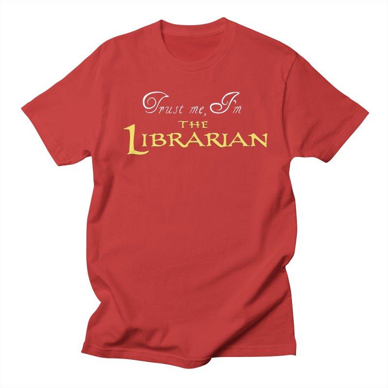 Trust Me, I'm The Librarian Men's Regular T-Shirt by JalbertAMV's Artist Shop