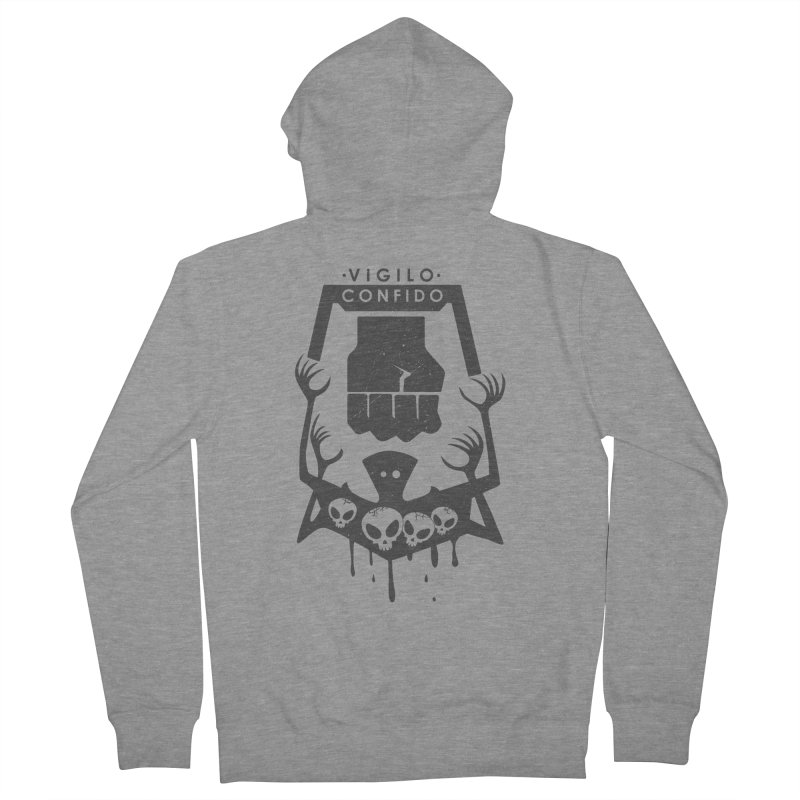 Resistance Tattoo Women's French Terry Zip-Up Hoody by JalbertAMV's Artist Shop