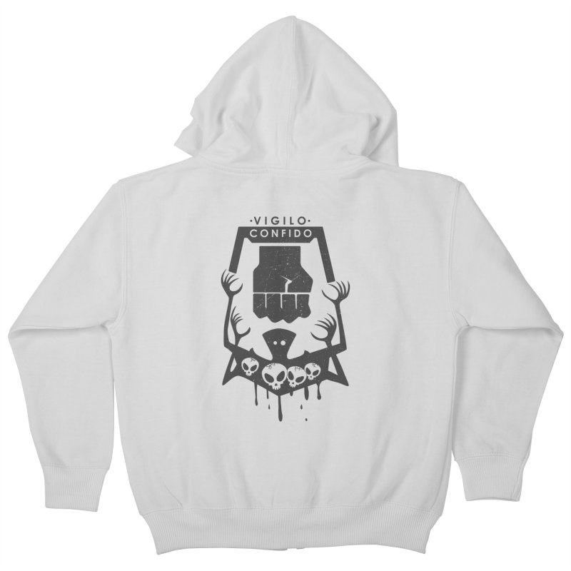 Resistance Tattoo Kids Zip-Up Hoody by JalbertAMV's Artist Shop