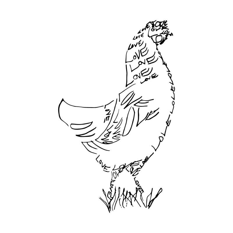 LOVEchicken Women's Zip-Up Hoody by jAM_Aidan Shop