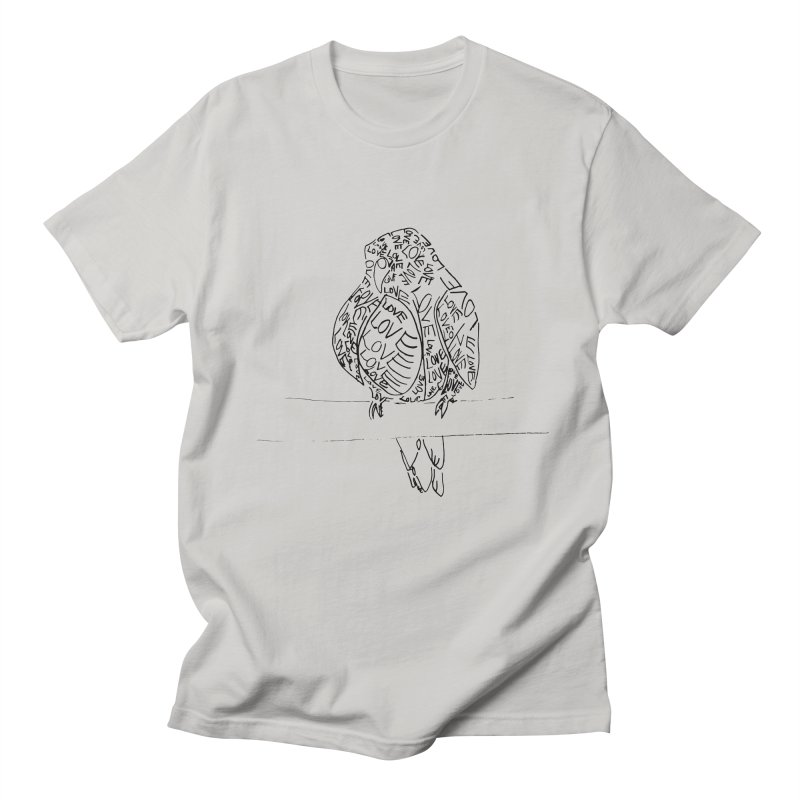 LOVEbird Men's T-Shirt by jAM_Aidan Shop
