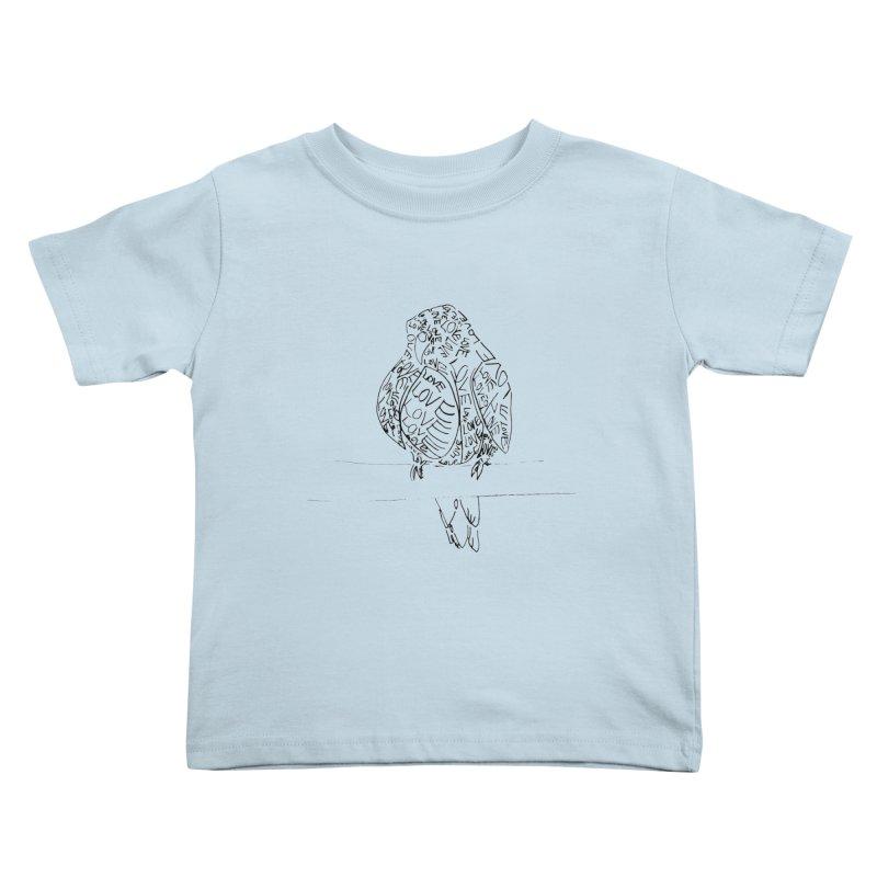 LOVEbird Kids Toddler T-Shirt by jAM_Aidan Shop