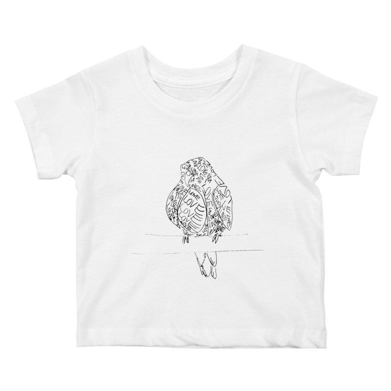 LOVEbird Kids Baby T-Shirt by jAM_Aidan Shop
